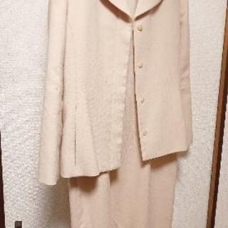 日本製 40 ウール ツーピース ジャケット ワンピース