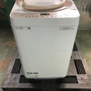 k0204-1 SHARP シャープ 洗濯機 ES-KS70U ...