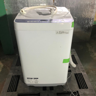k0204-4 SHARP シャープ 洗濯機 ES-T710 2...
