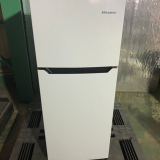 k0204-5 Hisense ハイセンス 2ドア冷蔵庫 HR-...