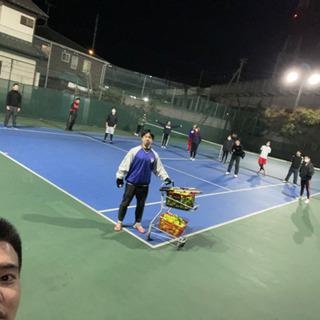 ゆる〜く硬式テニス(初心者中心)2/24 3/4.17開催