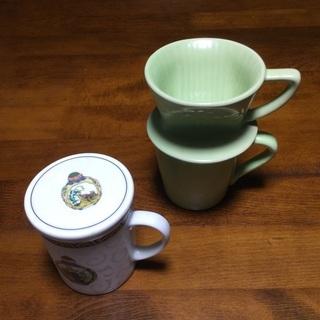 コーヒー マグカップ ティ 茶漉し付 新品未使用品 ティカ…