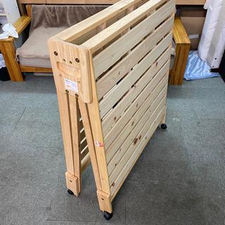 すのこタイプ 折り畳みベッド