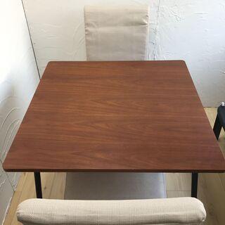 ニトリ ダイニングテーブル DT WALVE 椅子2脚付