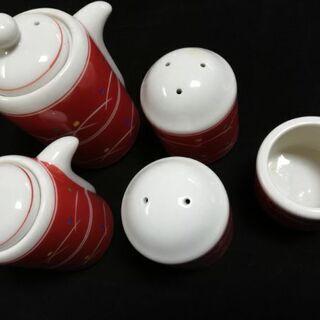 ●中村玉緒監修  陶器  調味料セット