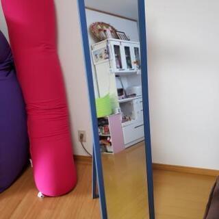 無料☆折り畳み式ルームミラー姿鏡
