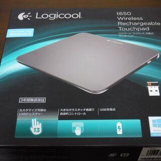 LOGICOOL タッチパッド T650 ワイヤレス 充電式  ...