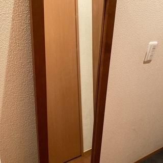 【2/13までの募集】昭和レトロな木枠の姿見