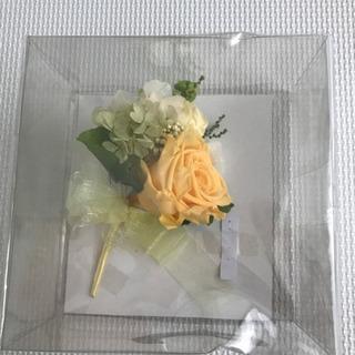 美品 ブートニア 結婚式 新郎用