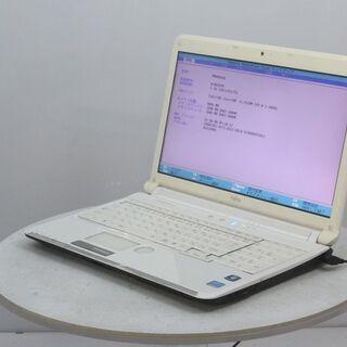 中古パソコン富士通LIFEBOOK白Core i5★Windows10