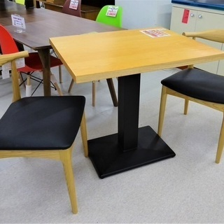 USEDウッドテーブル&曲げ木チェアセット