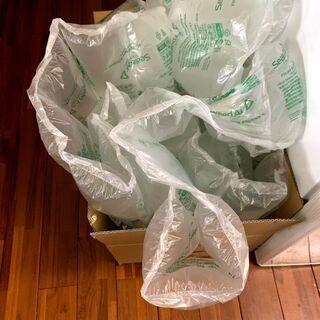 梱包材あげます。