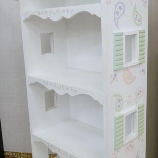 Cafe kid 4段カラーBOX カントリーハウス調【ユ…