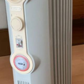 デロンギ オイルヒーター ホワイトブラウン JR0812