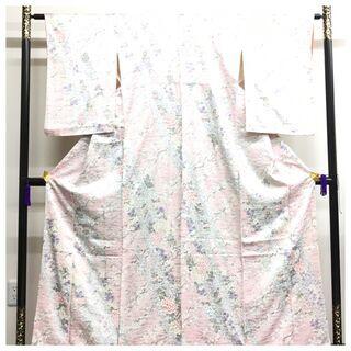 【ネット決済・配送可】 美品 極上 逸品 正絹 小紋 総華模様 ...