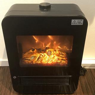 【ネット決済】暖炉型セラミックヒーター 1200W