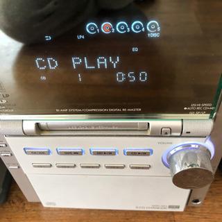 Panasonic SA-PM77MD MD コンポ - 家電
