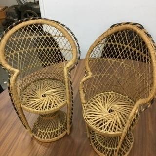 【ドール用椅子2個セット‼️】小さな椅子 お人形さんに☺️