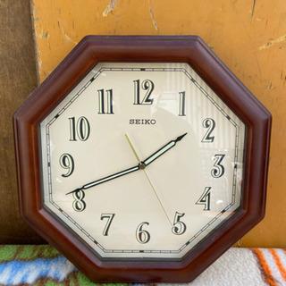 スイープ秒針‼️掛け時計 SEIKO