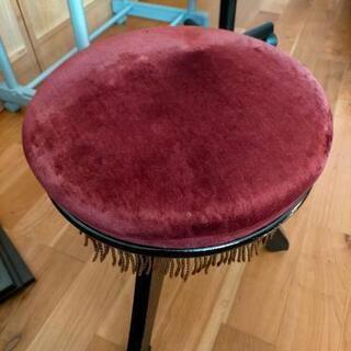 【ネット決済】ピアノ椅子 回して高さ調節
