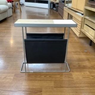 【トレファク南浦和】サイドテーブル ナチュラル×ホワイト