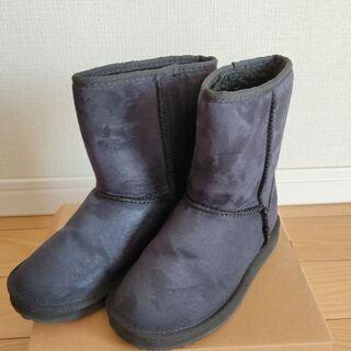 ☆美品☆★VANS★子供 ムートンブーツ20cm キッズ シューズ 靴