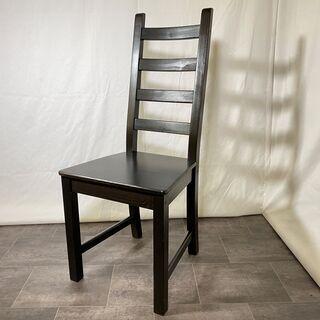 IKEA イケア チェア ハイバック ブラック 黒 中古品