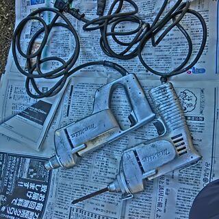 ★マキタドライバー★2点、電源、回転確認済、断線なし、錆汚れ補修...