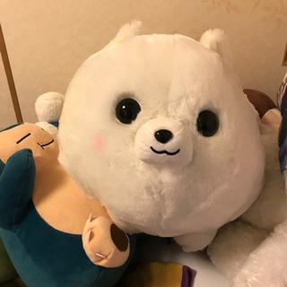 【ネット決済】犬ビッグサイズぬいぐるみ