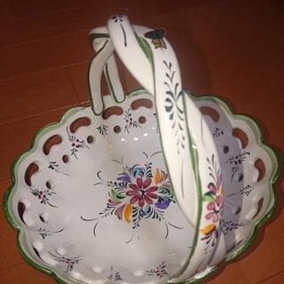 ポルトガル製陶器 フルーツバスケット