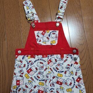 子供服オーバーオールスカート