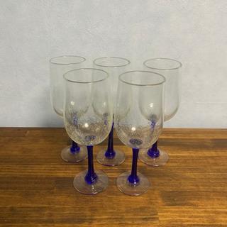 琉球ガラス グラスセット5個