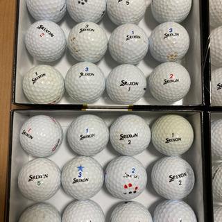 スリクソン ゴルフボール 60個