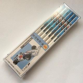 【レトログッズ】F1カー 鉛筆 1ダース