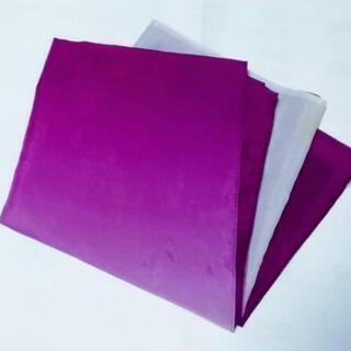 大判風呂敷 紫グラデーション