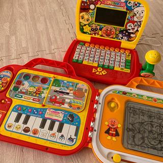 アンパンマン おもちゃ パソコン ようちえんバッグ