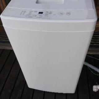 [配達無料][即日配達も可能?]全自動洗濯機  5kg  無印良...