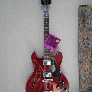 セミアコエレキギター美品(アリアプロ2)