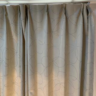 カーテン サイズ100×110  ベージュ