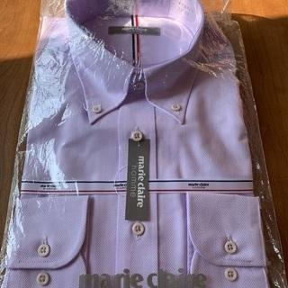 ワイシャツ 薄紫色 39-82