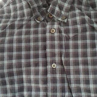 長袖シャツ 青系チェック柄 Sサイズ ユニクロ製 ※値下げしました。