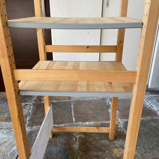 IKEA イケア  イーヴァル 木製棚 - 目黒区