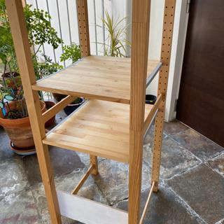 IKEA イケア  イーヴァル 木製棚 - 売ります・あげます