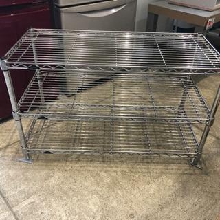 ルミナス  スチールラック 3段ラック テレビ台 収納棚