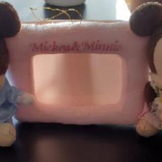 ミッキー&ミニー写真立て