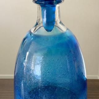 沖縄 キレイな瓶 琉球ガラス
