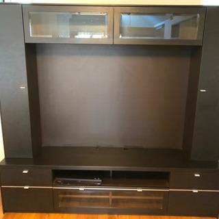 【ネット決済】大型テレビボード 壁面収納 3月2日まで