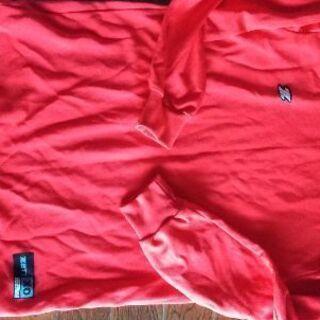 アンダーシャツ赤xo