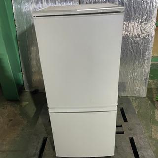 k0207-17 SHARP シャープ  2ドア冷蔵庫 S…
