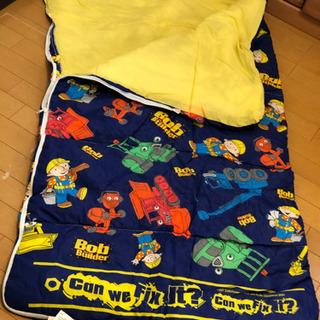 寝袋 シュラフ子供用+テントのセット ほぼ新品